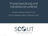 CO2 Preisentwicklung und Handelsinstrumente